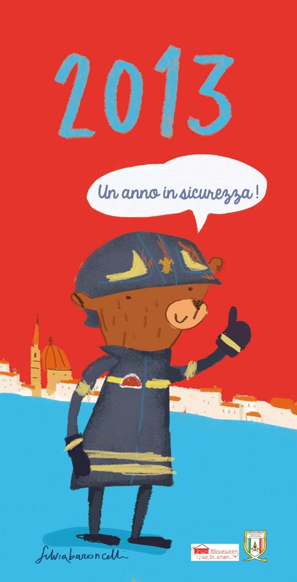 silvia baroncelli_copertina calendario sicurezza