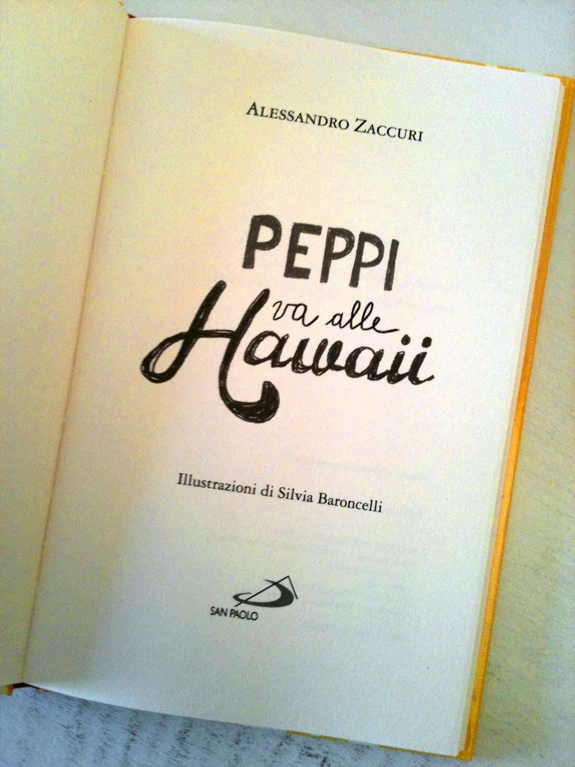 Silvia Baroncelli_A. Zaccuri_Peppi va alle hawaii 1