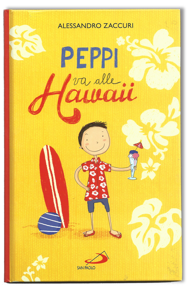 copertina Peppi va alle Hawaii